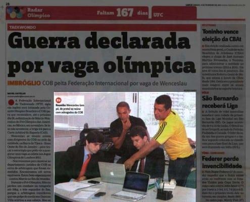 Clipping Marcelo Franklin Advogado Clipping Radar Olímpico / COB