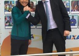 O advogado Marcelo Franklin fez a defesa da velocista Ana Cláudia Lemos em caso de doping